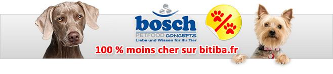Nourriture Bosch pour chien