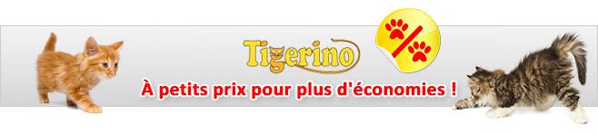 Litière Tigerino pour chat