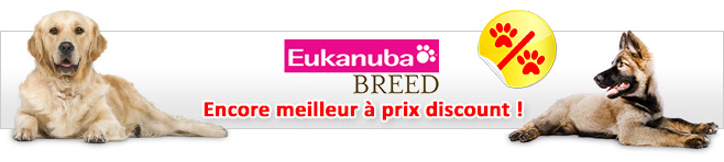 Croquettes Eukanuba Breed Nutrition pour chien