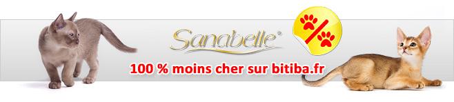 Nourriture Sanabelle pour chat