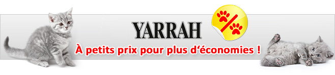 Pâtée Yarrah pour chat