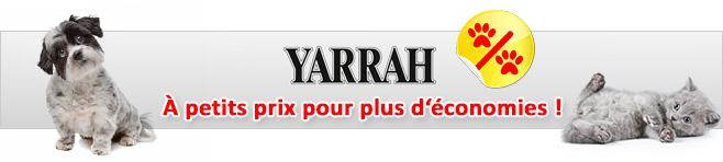 Nourriture Yarrah pour chien et chat