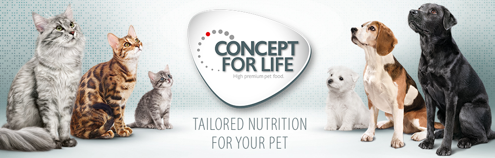 Concept for Life Dog and Cat Food