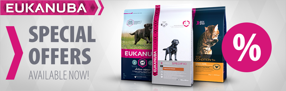 Eukanuba dog and cat food