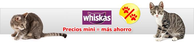 Whiskas comida húmeda gatos