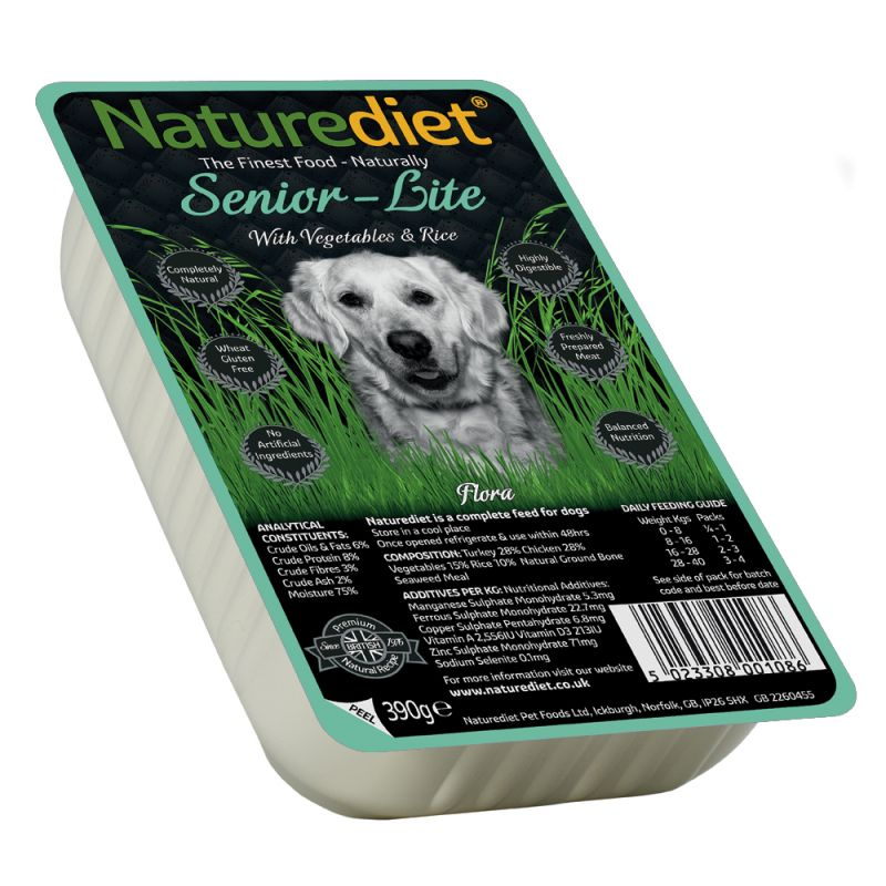 Naturediet Senior Lite Wet Dog Food