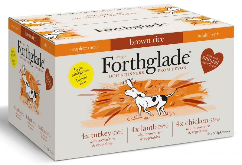 Forthglade brown rice dog food