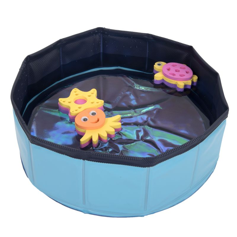 Kitty Pool with toys