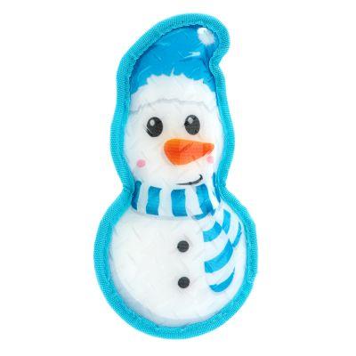 Snowman dog toy