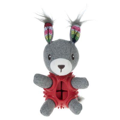 Rabbit dog snack toy