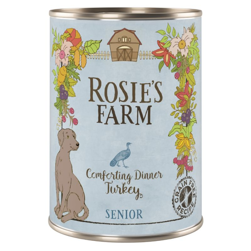 Rosies Farm senior wet dog food