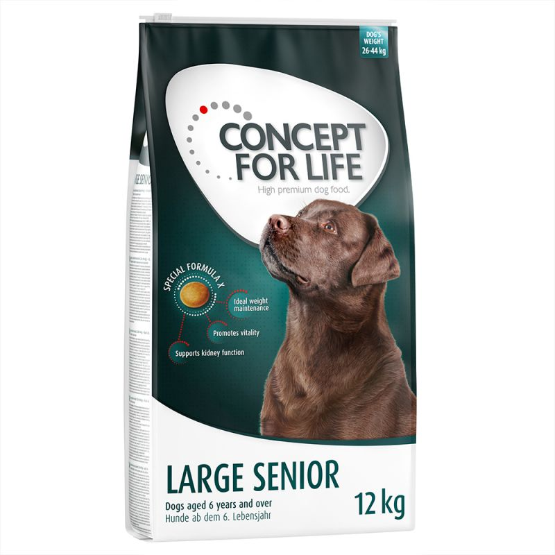 concept for life large senior dry dog food