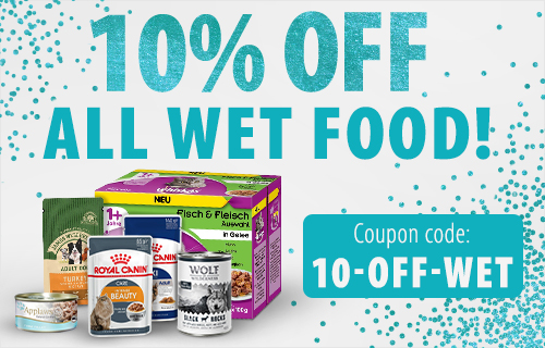Discount on Wet Food Cat and Dog Feb 2020