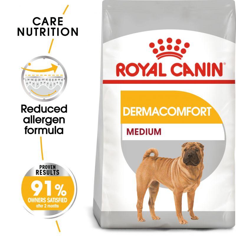 Royal Canin Dermacomfort medium dog food