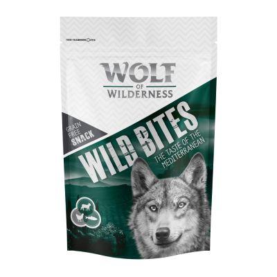 Wolf of wilderness wild bites